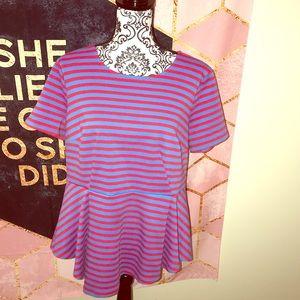 🚫SOLD🚫ELOQUII • peplum blouse